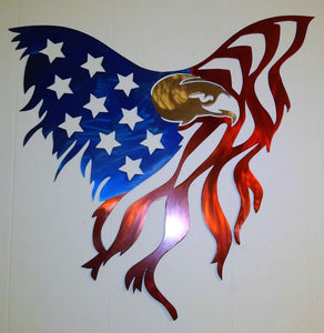 Eagle as Flag