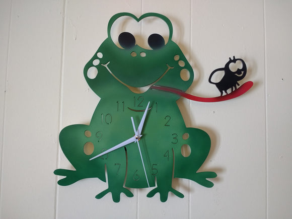Frog and Fly Clock