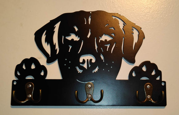 Labrador Retriever Key and Dog Leash Chain Holder