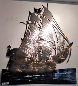 Pirate Ship artwork