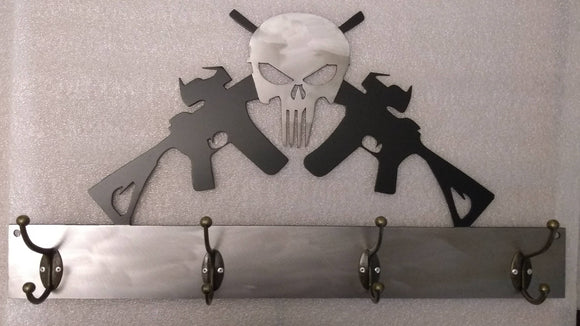 Punisher & AR Guns Coat Hanger