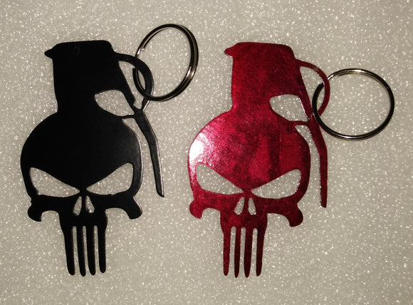 Punisher Grenade keychain