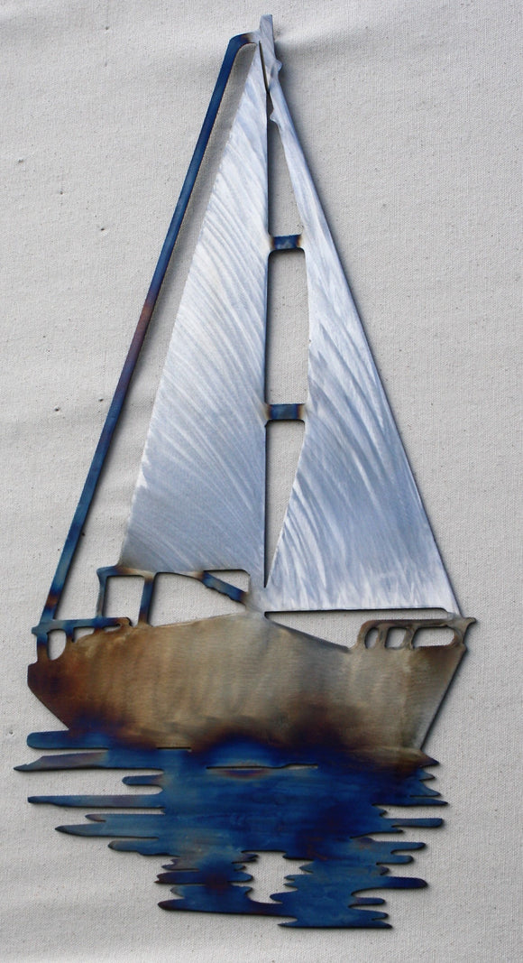 Sail Boat artwork