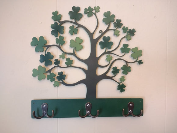 Shamrock Key Chain Holder