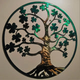 Tree of Life - Irish with Shamrocks