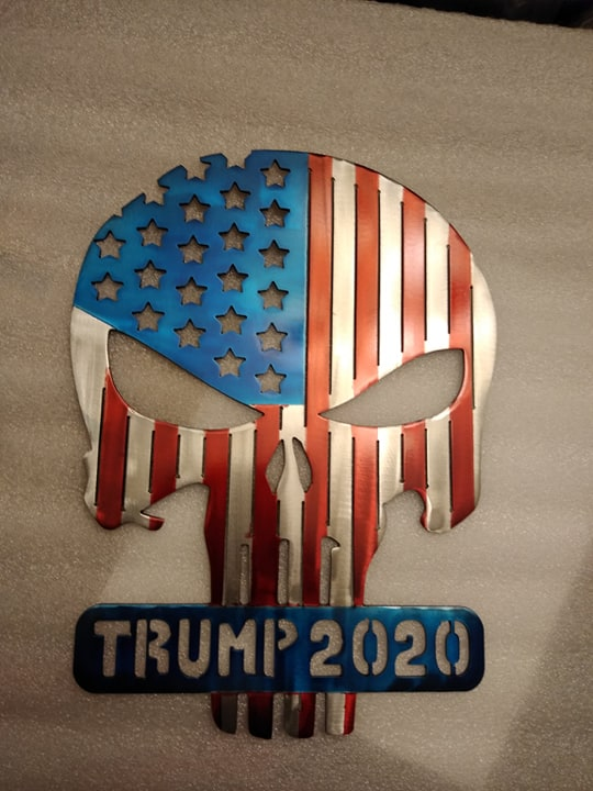 Punisher Flag Trump 2020