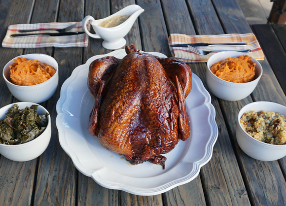Holiday Whole Smoked Turkey Combo