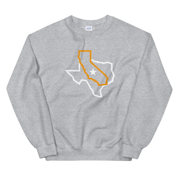 Texas - California Icon Sweatshirt