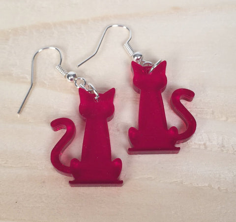 Cat - Earrings - Skinny Tail