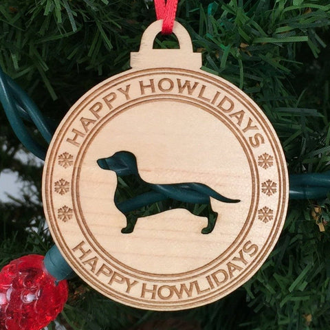 Dog - Ornaments - Dachshund