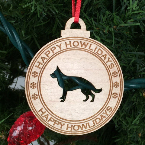 Dog - Ornaments - German Shepherd