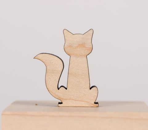 Cat - Magnets - Fluffy Tail