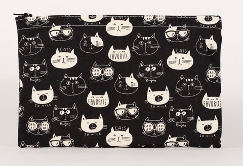 Cat - Pencil Cases - Black Cats with Sunglasses