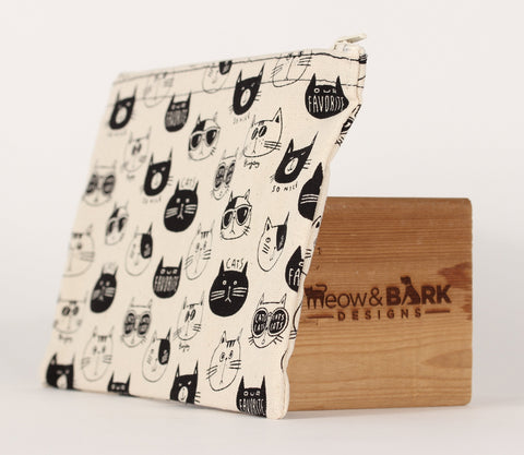 Cat - Pencil Cases - Cats with Sunglasses