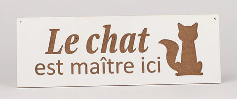 French Signs - Cat - Le Chat