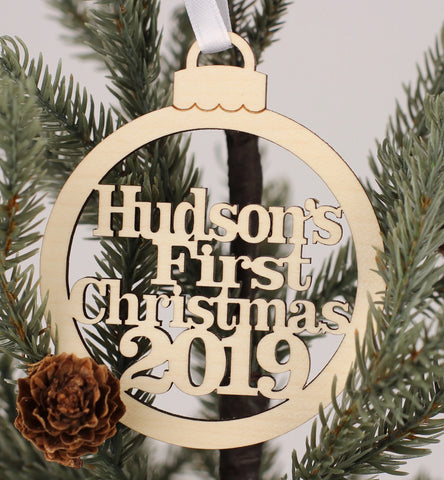 Christmas Ornaments - Custom First Christmas