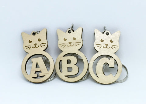 Cat - Keychains - Cat Alphabet