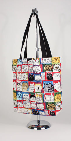 Cat Head Tote Bag - Sketchy