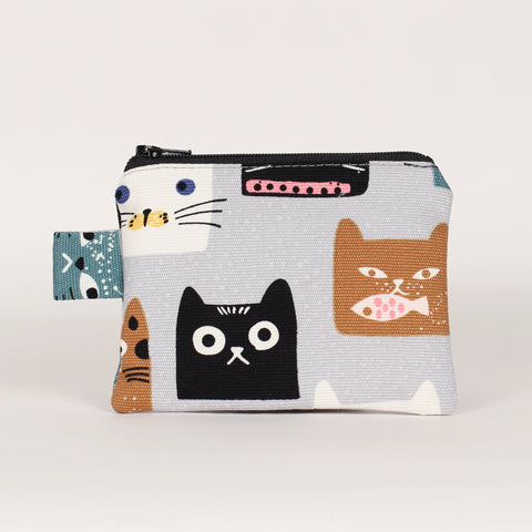 Cat - Coin Purses - Square Heads