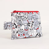 Dog - Coin Purses - Four Different Patterns