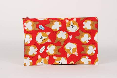 Corgi Pencil Case