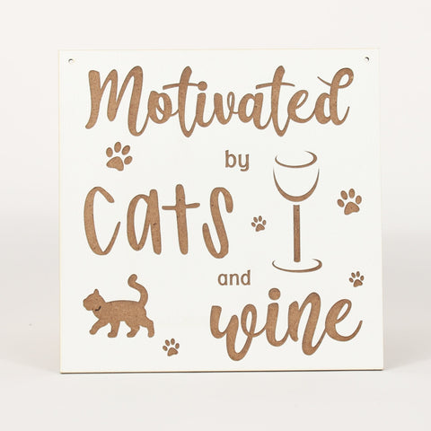 Cat - Signs - Motivated by Wine