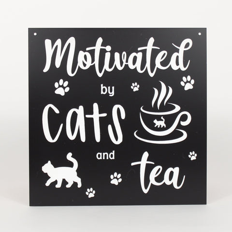 Cat - Signs - Motivated by Tea