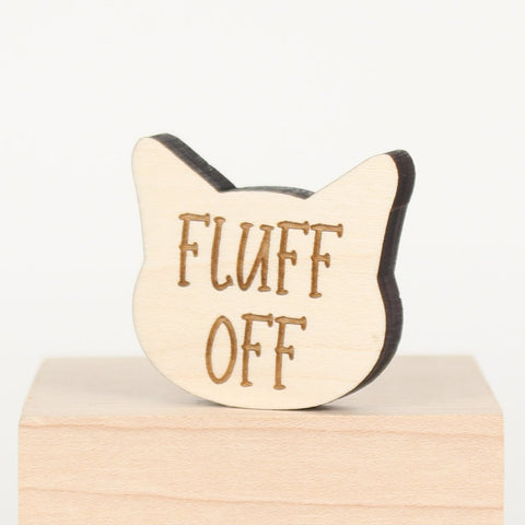 Cat - Magnets - Fluff Off