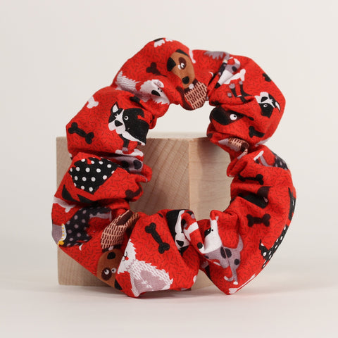 Dog - Scrunchies - Red