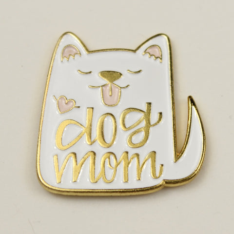 Dog - Enamel Pins - Dog Mom