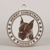 Christmas Ornaments - Custom Laser Engraved Photo