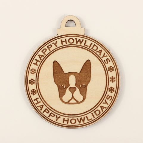 Dog - Ornaments - Boston Terrier