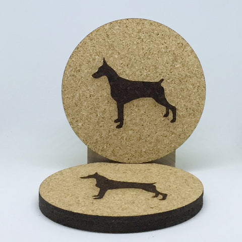 Dog - Cork Coasters - Large Dogs