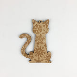 Cat - Ornaments - Skinny Tail Snowflakes