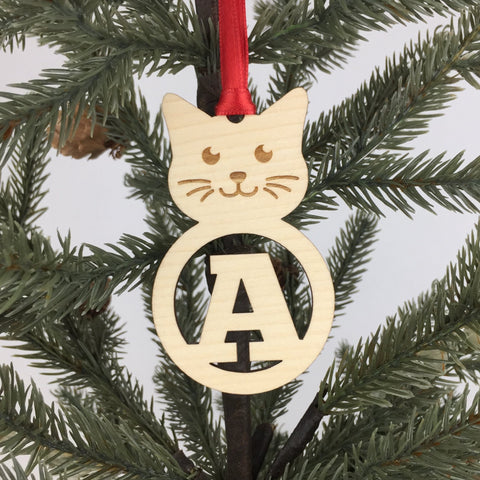 Cat - Ornaments - Alphabet