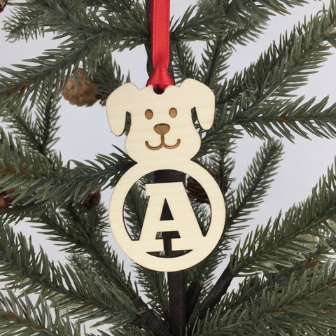 Dog - Ornaments - Alphabet