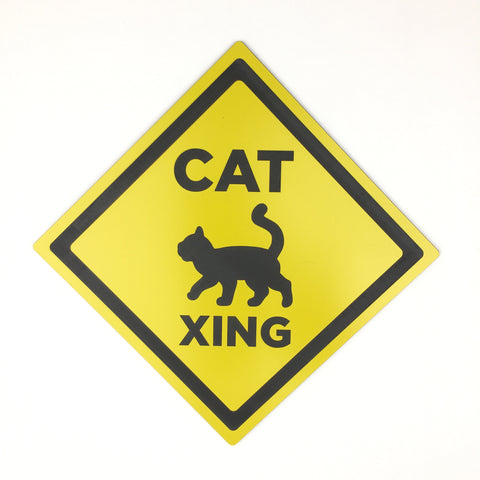 Cat - Signs - Cat Crossing 2