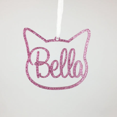 Cat - Custom Cat Head with Name