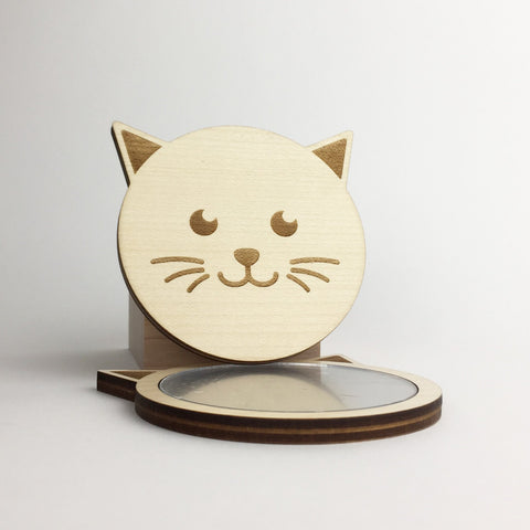 Cat - Mirror - Cat Head