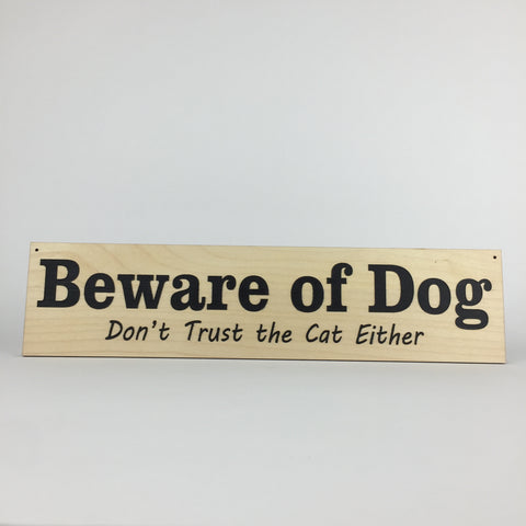 Dog - Signs - Beware of Dog