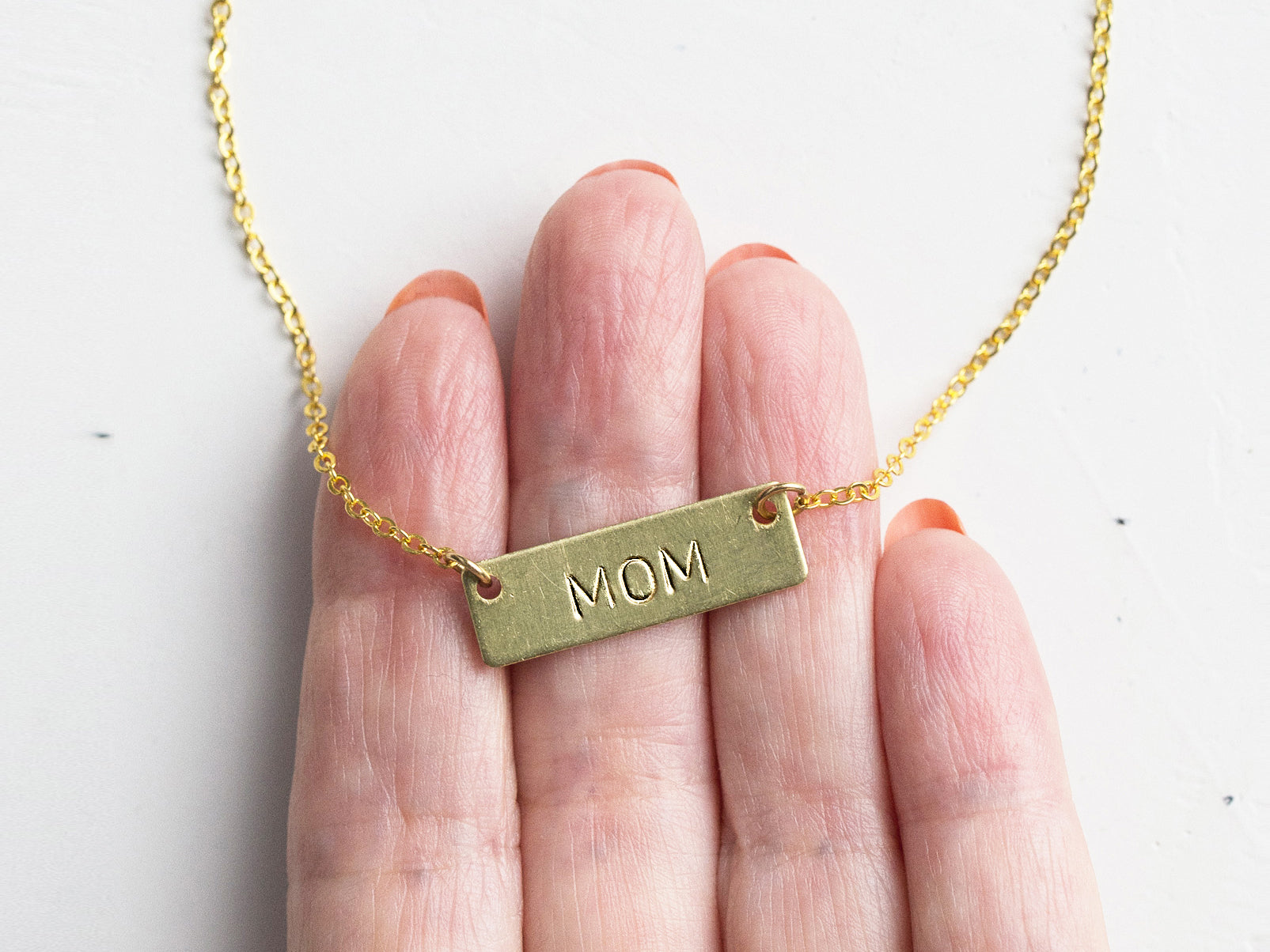 How to Make a Personalized Hand-Stamped Necklace