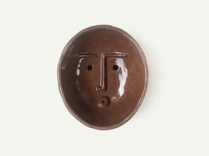 Ceramic Face Dish nº12 / Soap Holder / Incense Holder