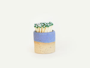 Ceramic Match Striker - Periwinkle