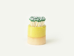 Ceramic Match Striker - Yellow