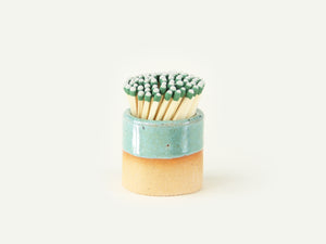 Ceramic Match Striker - Cyan
