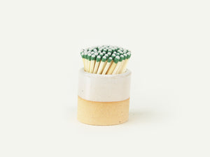 Pre-Order: Ceramic Match Striker - White