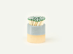 Ceramic Match Striker - Speckled Blue
