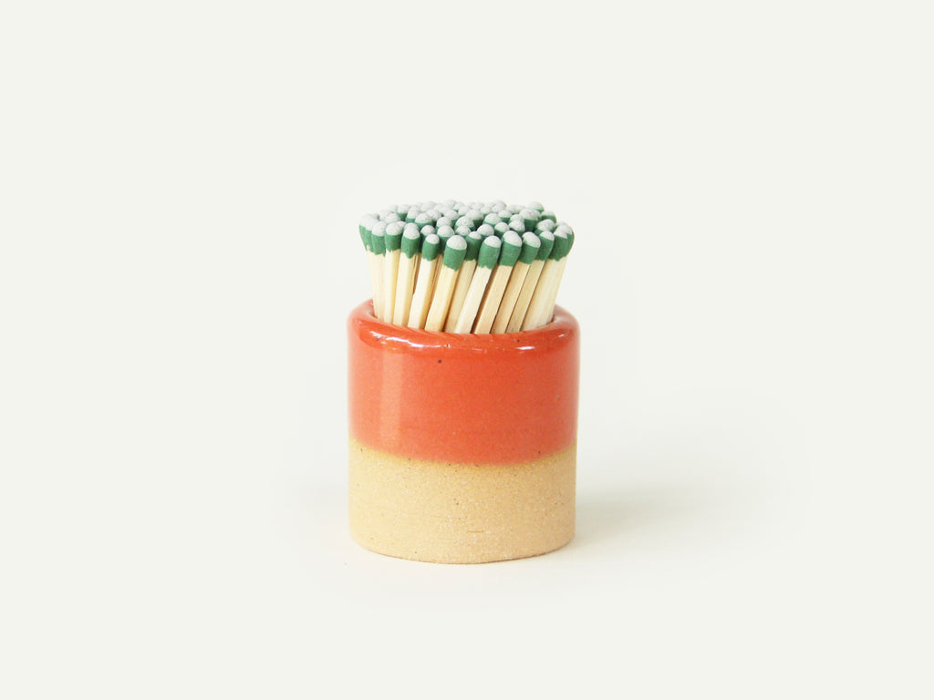 Ceramic Match Striker - Red
