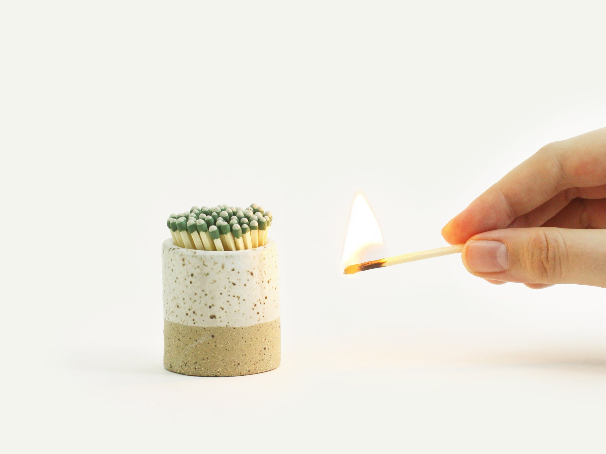Ceramic Match Striker - Evergreen