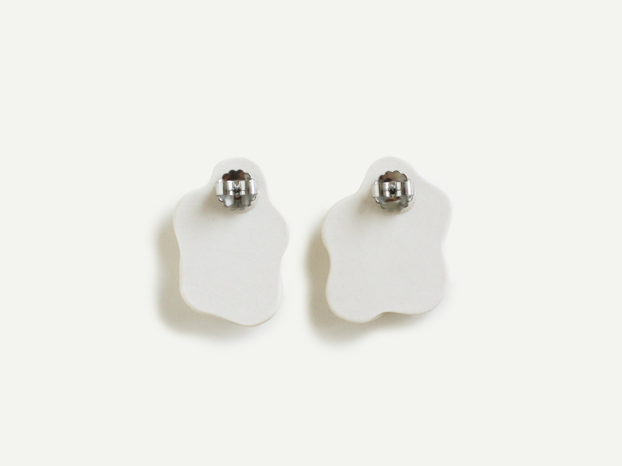Pre-Order: Porcelain Egg Earrings